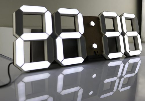 CO-Z Multi-Functional Remote Control LED Digital Wall Clock