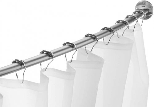 EXCELL Curved Shower Curtain Rod
